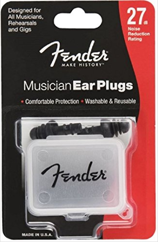 Fender Musician Series Ear Plugs - 27db Noise Reduction -...