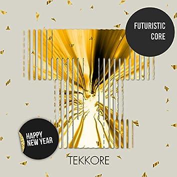 Futuristic Core Happy New Year