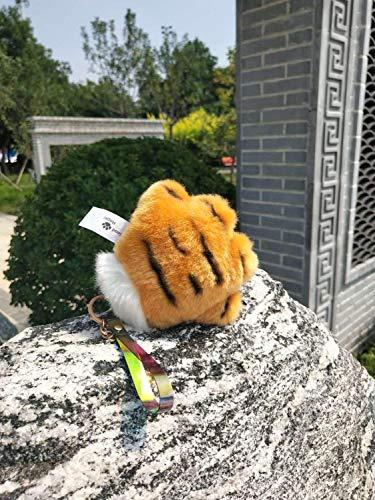 J-MWJ - Guantes completos de peluche con diseo de oso de lobo, gato, garra de tigre, anime, cosplay, Halloween, fiesta, disfraz de animadora, juguete para regalo de cumpleaos J-MWJ (color: plata)