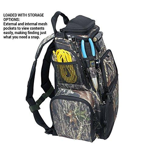 Wild River by CLC 636042 Tackle Tek Nomad Lighted Mossy Oak Backpack