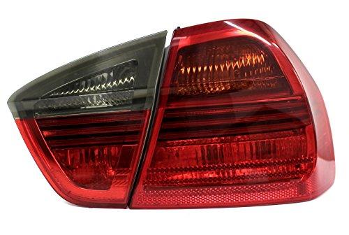 Juego de luces traseras de color oscuro para coche vehicles pegatina autoadhesivo resistente a la intemperie Accesorios del vehículo C013