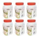 Sunpet Aufbewahrungsbehälter für Lebensmittel Lebensmittel Aufbewahrungsdosen, rot, 1000