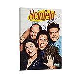 ASDWE Seinfeld 1996 Kunstdruck auf Leinwand und Wandkunst,