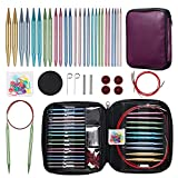 Best Knitting Needle Sets - Ruidi 13 Pairs of Interchangeable Circular Knitting Needles Review