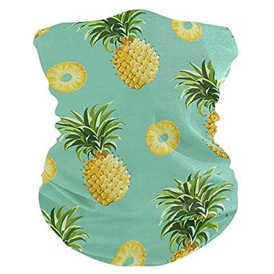 Pineapple Headband Womens Bandana Multifunctional Mens Balaclava, Neck Warmer, Face Mask, Collars Facemask