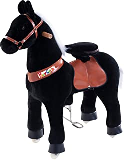 Smart Gear Pony Cycle Black Stallion Riding Toy : World's First Simulated Riding Toy for kids Age 4-9 Years Ponycycle ride-on medium