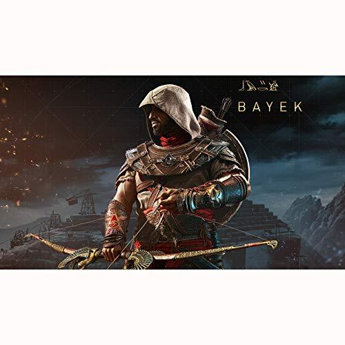 FENGZI Assassin'S Creed Origins Bayek Jigsaw Puzzles 300/500/1000/1500 Pieza Adultos Adolescentes Niños Diversión Rompecabezas Juguetes Regalos (Size : 1500Pieces)