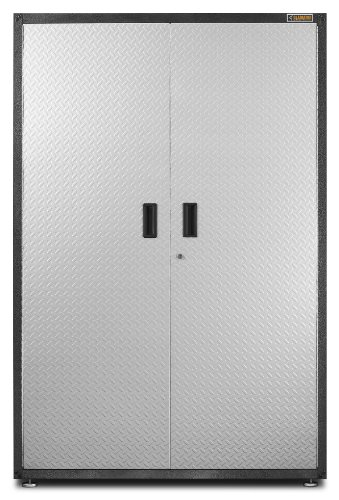 Gladiator GAJG48KDYG Ready-To-Assemble Extra Large Gearbox Steel Cabinet, Hammered Granite