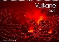Vulkane 2022 (Wandkalender 2022 DIN A2 quer): Vulkane der Welt, Monatskalender, 14 Seiten (Monatskalender, 14 Seiten )