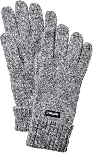 HESTRA Pancho 5-Finger Handschuhe Grey Handschuhgröße 9 2019 Outdoor Handschuhe