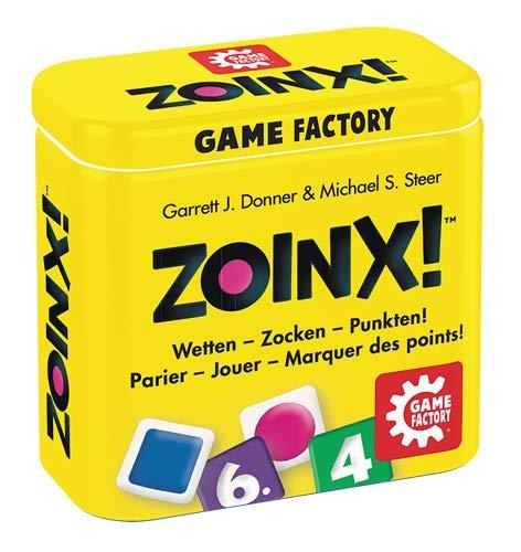 Zoinx!, Würfelspiel, Game Factory