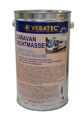Vebatec Caravan Dichtmasse streichbar 5 kg (21,99 €/1kg)