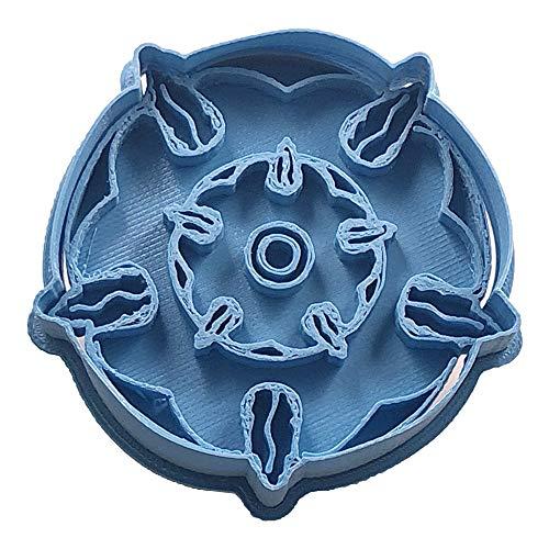 Cuticuter Tyrell Juego De Tronos Cortador de Galletas, Azul, 8x7x1.5 cm