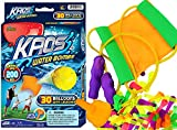 JA-RU KAOS Water Balloon Launcher, Water Balloon Slingshot, 30 Colorful Water Balloons & Rapid Water Injection Tool for Kids and Adults, (1 Pack) 200 Feet Range Water Bomb Sling Shot Set. 181-1