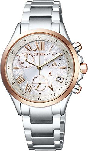 [シチズン]CITIZEN 腕時計 xC クロスシー エコ・ドライブ シンプルアジャスト クロノグラフ FB1404-51A レディース