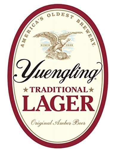 Yuengling Lager Oval Metal Sign
