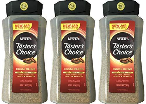 Taster#039s Choice Original Gourmet Instant Coffee 14 Oz Pack of 3