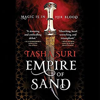 Empire of Sand     The Books of Ambha              Written by:                                                                                                                                 Tasha Suri                               Narrated by:                                                                                                                                 Soneela Nankani                      Length: 17 hrs     Not rated yet     Overall 0.0