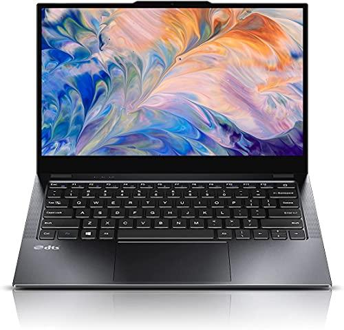 CHUWI LarkBook Ordenador Portátil 13,3 inch FHD Touchscreen Notebook PC Windows 10,Intel N4120 8G RAM +256G SSD Laptop Ultradelgado con Marco Estrecho,4 Altavoces,Soporte Type-C Carga Rápida PD. (8GB)