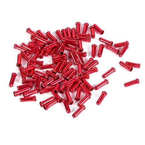 Tapa de línea de freno, 100 piezas 2,5 mm Aleación de aluminio...