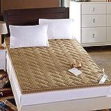 RTYUIO 4 cm Sommer Faltbare atmungsaktive Matratze, tragbare Tatami-Boden-Schlaf-Futon-Matratze für...