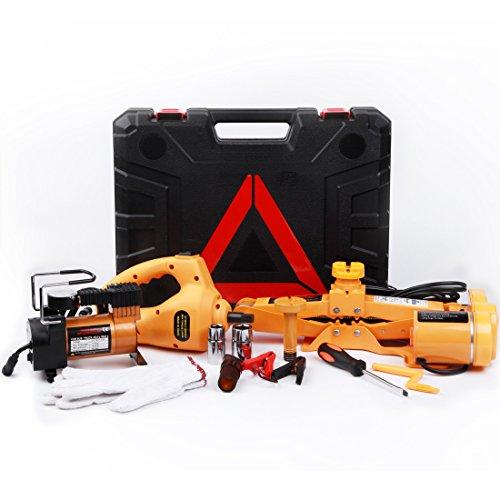 Lidauto 3T Krik ruitkrik tot 3000 kg voor auto kit met luchtpomp en elektrische sleutel