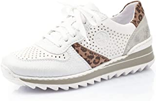 Rieker Femme Chaussures de Ville à Lacets M6927, Dame Chaussures de Sport