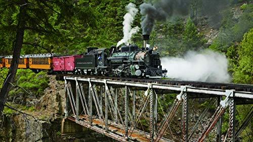 Puente de hierro del tren de montaña   Adultos Puzzle 1500 Piezas Niños De Madera Juego Clásico Puzzle Toys Puzzles