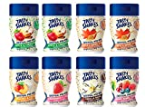 Kernel Season's Tasty Shakes Oatmeal Mix-ins Mini Jars Variety Pack, 0.9 Ounce (Pack of 8)