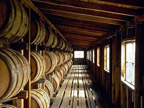 XCSBZ Puzzles Für Erwachsene 1000 Stück,Bourbon Whisky Distillery,Holzpuzzles Für Jugendliche,Sehr Gutes Lernspiel,Sehr Herausfordernd,Einzigartiges Geburtstagsgeschenk