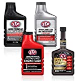 STP Fuel System Cleaner Kit (4 Items), Formula and Engine Care for Cars, Truck and Motorcycle, 15 Fl Oz, 19124