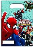 Generique - 6 Bolsas Regalos Spiderman