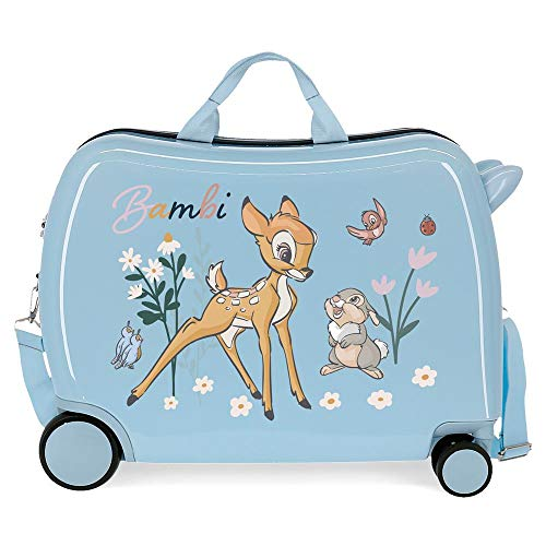 Disney Before The Bloom Children's Suitcase Blue 50 x 38 x 20 cm Rigid ABS Side Combination Closure 34L 3 kg 4 Hand Luggage