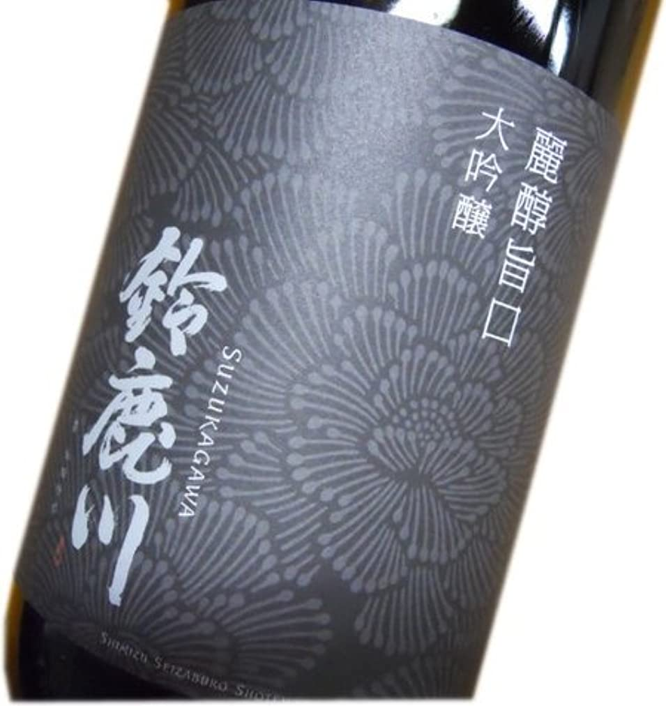 ベギン逆説魚清水清三郎商店(旧 清水醸造) 鈴鹿川 大吟醸 1800ml