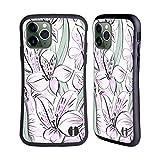 Head Case Designs Licenciado Oficialmente Anis Illustration Lila Bombacha Carcasa híbrida Compatible con Apple iPhone 11 Pro