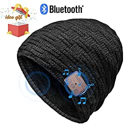 HANPURE Bluetooth hat women & men gifts, Bluetooth hat with Bluetooth 5.0 headphones for outdoor sports, skiing, running, skating, birthday gifts for women & men