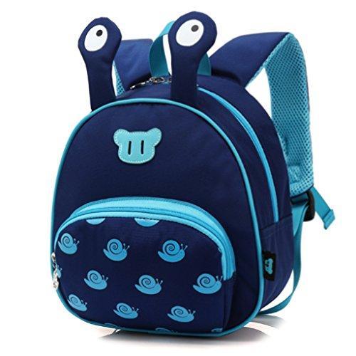 Mochila Escolar para bebés, Mochila para niños pequeños,Bolsos para niños Mochila para niños Bolsas de Hombro preescolares de la guardería Anti Lost, Conejo (1-5 años de Edad)-Azul