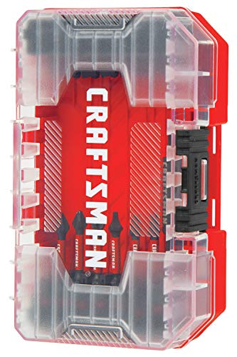 CRAFTSMAN Drill/Driver Set, Impact Ready Bits, 29 Pieces (CMAF1329)