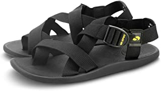 SPOT Sandals for Men with Velcro Straps | Durable Design with Strong Grip | Series - SS-15