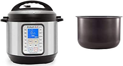 Instant Pot Duo Plus 9-in-1 Electric Pressure Cooker, Sterilizer, Slow Cooker, Rice Cooker, 6 Quart, 15 One-Touch Programs...