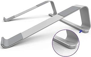 MQING Disipador De Calor De Aleación para Portátil, Soporte De Mesa para Laptop, Bandeja para Computadora con Radiador, Aumento De La Capacidad del Portátil Mesa Plegable
