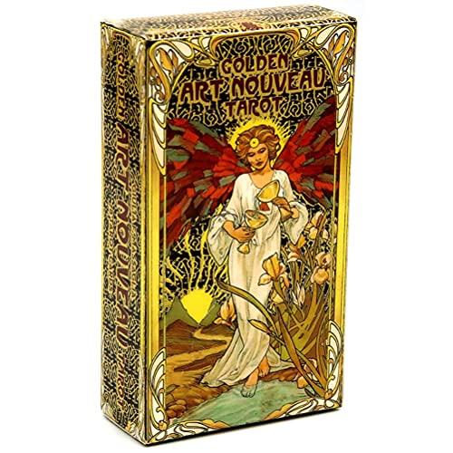 passer 78 Stück/Set Tarotkarten, englische Tarotkarten, klassische Tarotkarten, Deck, Reise-Tarot, Kartenspiel, Power-Deck mit Anleitungsheft, 78 Tarot-Karten für Anfänger