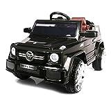 Kinderfahrzeug - Elektro Auto GL - 12V Akku,2 Motoren- 2,4Ghz Fernsteuerung, MP3- schwarz