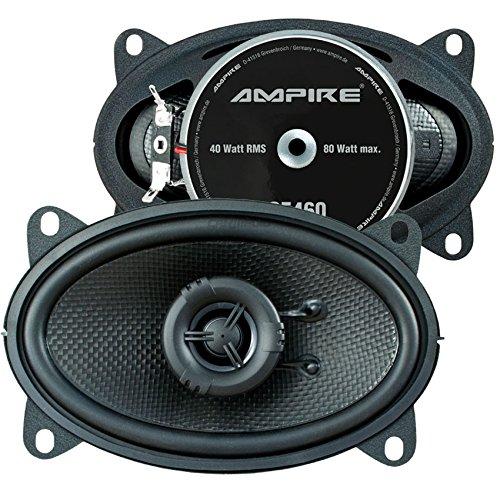 Ampire Lautsprecher 4x6 für VW Polo 2 (81-94) Koax Seiten Heckbereich