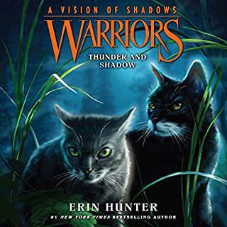 Warriors: A Vision of Shadows, Book 2: Thunder and Shadow cover art