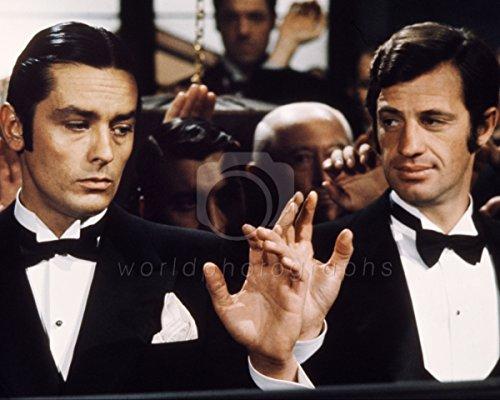 worldphotographs Borsalino (1970) Jean-Paul Belmondo, Alain Delon 10x8 Photo