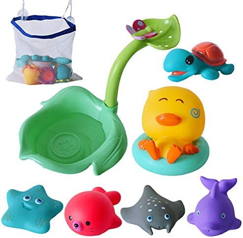 Welene Bath Toys Bathtub Toys for Tub Game Beach and Pool Party Gifts for Toddlers Babies Kids product image