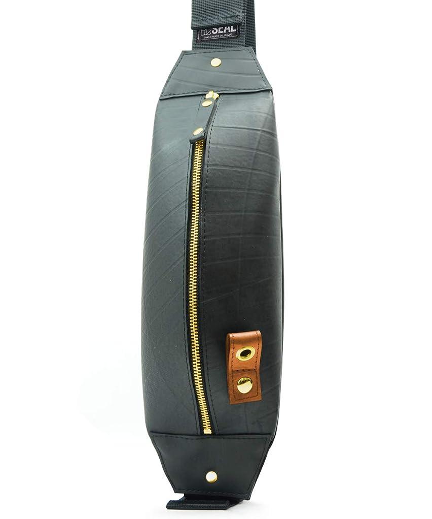 明らかすり減るテーブルを設定するSEAL ボディバッグ 防水 ワンショルダー アウトドア 汚れを防ぐ 世界に一つ タイヤチューブ 高級感 メンズ
