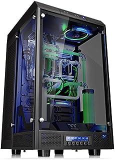 Thermaltake Tower 900 شیشه ای جامد کاملا مدولار E-ATX Vertical Super Tower Gaming Case Case Chassis Black Edition، CA-1H1-00F1WN-00