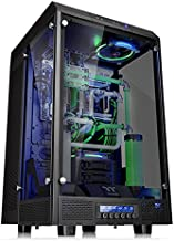 $182 Get Thermaltake Tower 900 Black Edition Tempered Glass Fully Modular E-ATX Vertical Super Tower Computer Chassis CA-1H1-00F1WN-00